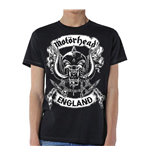 T-shirt Motorhead Crossed Swords England Crest