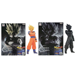 Dragon Ball Z - Resolution Of Soldiers #01 Son Goku Super Saiyan - Set 2 Figure Altezza 17 Cm