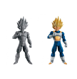 Dragon Ball - Figure Colosseum Scultures Big 6 Special Super Saiyan Vegeta - Set 2 Figure Altezza 17 Cm