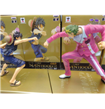 One Piece - Film Gold Manhood Monkey.  D. Luffy Vs Gild Tesoro - Set 2 Figure Altezza 13/15 Cm