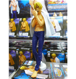 One Piece - The Naked 2017 Body Calendar Figure #02 Sanji Altezza 17 Cm