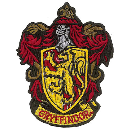Toppa Harry Potter Gryffindor