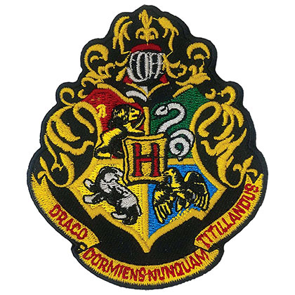 Toppa Harry Potter Hogwarts
