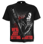 Spiral - Negan - Just Getting Started - Walking Dead Black (T-SHIRT Unisex )