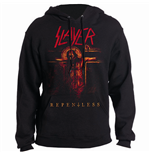 Slayer - Repentless Crucifix Black (felpa Con Cappuccio Unisex )