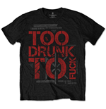 Dead Kennedys - Too Drunk (T-SHIRT Unisex TG. 2)