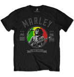 Bob Marley - Rebel Music Seal (T-SHIRT Unisex TG. 2)