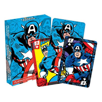 Carte da gioco Captain America