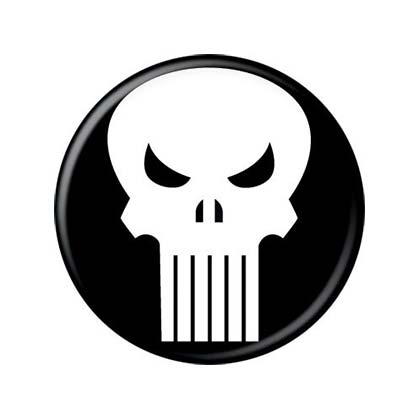 Spilla The punisher