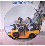Vinile Beach Boys - Surfin Safari + Candix Recordings (Picture Disc)