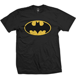 Dc Comics - Batman Logo Black (T-SHIRT Unisex TG. 2)