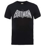 Dc Comics - Originals Batman Retro Crackle Logo (T-SHIRT Unisex TG. 2)