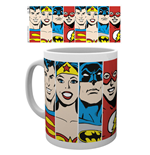 Tazza Dc Comics - Faces