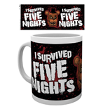 Tazza Five Night At Freddy's - I Survived