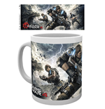 Gears Of War 4 - Game Cover (Tazza)