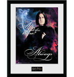 Harry Potter - Snape Always (Stampa In Cornice)