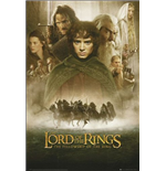 Lord Of The Rings - Fellowship Of The Ring 1 Sheet (Poster Maxi 61x91,5 Cm)