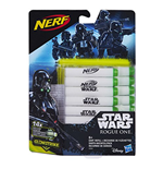 Nerf - Star Wars - Rogue One - Ricarica 14 Dardi