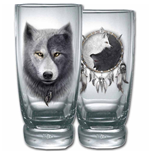 Spiral - Wolf Chi Water Glasses - Set Of 2 L