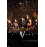 Vikings - Table (Poster Maxi 61x91,5 Cm)