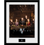 Vikings - Table (Stampa In Cornice)