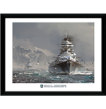 Stampa In Cornice World Of Warships - Bismark