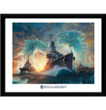 World Of Warships - Dragons (Stampa In Cornice)