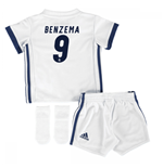 Mini kit Real Madrid 2016-2017 Home (Benzema 9)