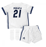 Mini kit Real Madrid 2016-2017 Home (Morata 21)