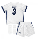 Mini kit Real Madrid 2016-2017 Home (Pepe 3)