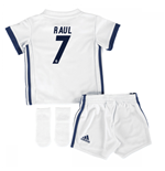 Mini kit Real Madrid 2016-2017 Home (Raul 7)