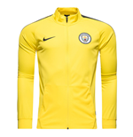 Giacca Manchester City 2016-2017 (Giallo) Nike Core Trainer
