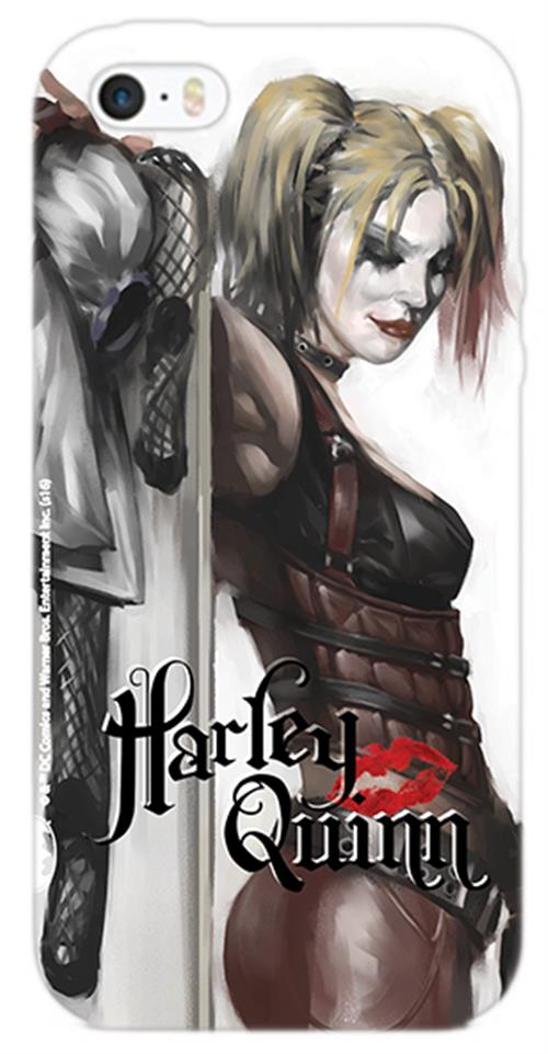 Cover Iphone 6-6S Harley Quinn Figure Opaca