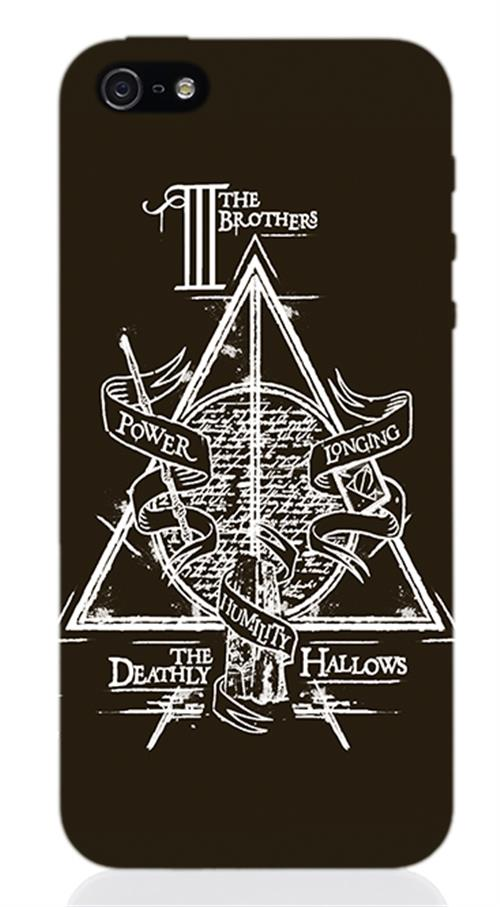 Cover Iphone 5 Harry Potter Deathly Hallows