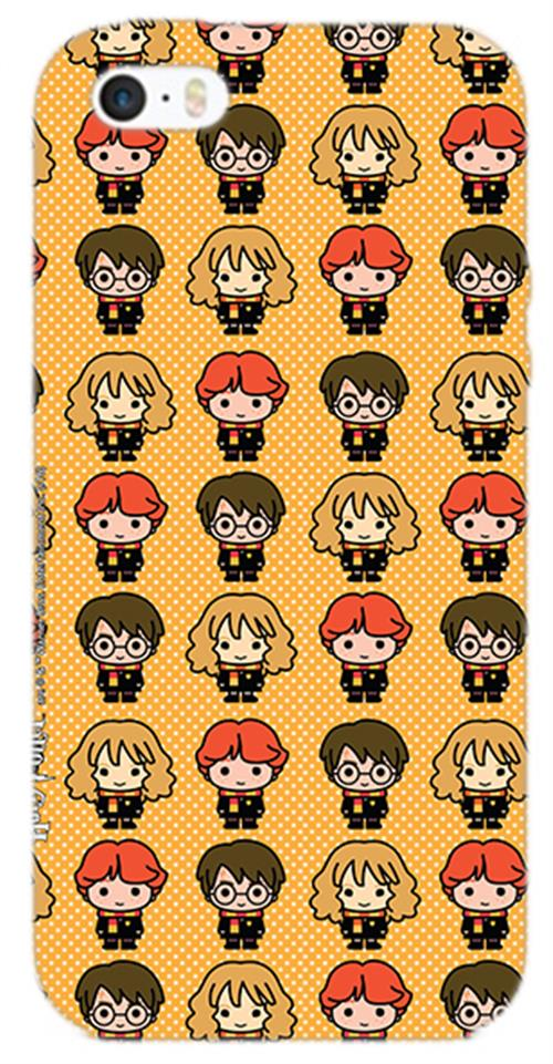 Cover Iphone 6-6S Harry Potter Protagonists Chibi Opaca