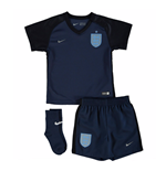 Mini Kit Inghilterra calcio 2017-2018 Away da bebé