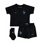 Mini Kit Francia calcio 2017-2018 Away da bebè
