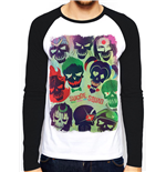 Suicide Squad - Poster (baseball Shirt Unisex )