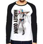 Suicide Squad - Hq Poster (baseball Shirt Unisex )
