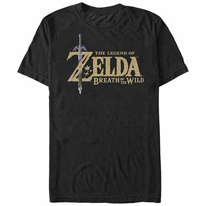 T-shirt The Legend of Zelda Breath Logo