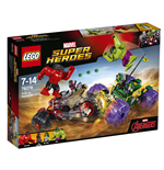 Lego 76078 - Marvel Super Heroes - Hulk Contro Red Hulk