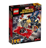 Lego 76077 - Marvel Super Heroes - Iron Man - L'Attacco Di Detroit Steel