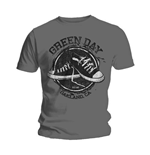 T-shirt Green Day Converse