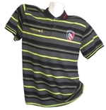 Leicester Tigers Polo Leggera Stripes 2017