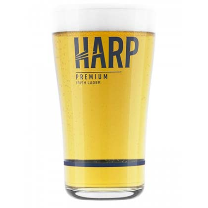 Bicchiere Harp Lager
