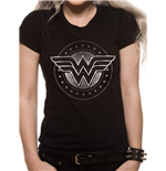 T-shirt Wonder Woman Movie - Chrome Logo