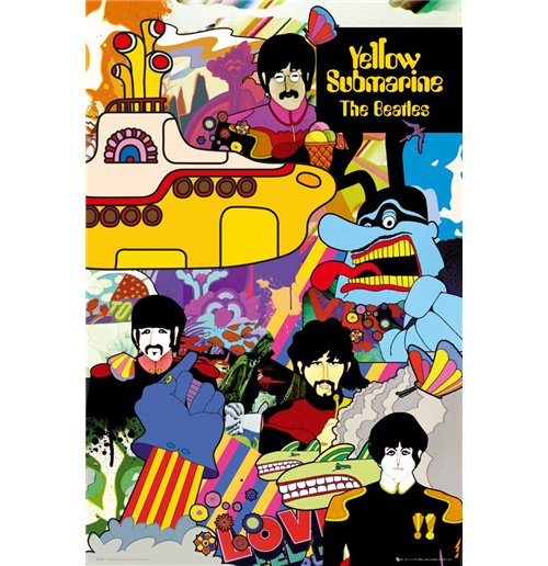 Beatles (The) - Yellow Submarine (Poster Maxi 61x91,5 Cm)