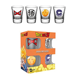 Dragon Ball Z - Mix (Set 4 Bicchieri Piccoli)