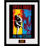 Guns N' Roses - Illusion (Stampa In Cornice 30x40cm)