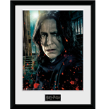 Harry Potter - Snape (Stampa In Cornice 30x40cm)